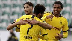 Dortmund, Bayern i Brémy vyhrály, Kadeřábkova asistence stačila pouze na bod proti poslednímu Paderbornu