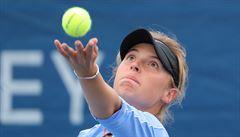 Patnáctiletá česká tenistka mezi ženami září. Na turnaji WTA už postoupila mezi nejlepších osm