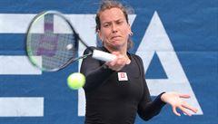 Strýcová na úvod tenisové soutěže družstev porazila Vondroušovou, utkání přihlížel Jágr s Eliášem