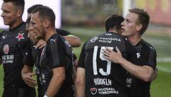 Slavia vyloupila brankou Ševčíka Mladou Boleslav, na druhou Plzeň zvýšila náskok na 11 bodů