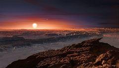 Planeta s ideálními podmínkami pro mimozemský život. Astronomové potvrdili její existenci u naší nejbližší hvězdy