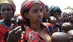 Hladoví Somálci pro jídlo nepřicházejí. Bojí se?