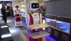 Kvůli koronaviru roste poptávka po dodávkových robotech. Přinesou i hotová jídla