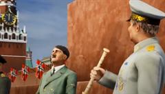 Virtuální Hitler v centru Moskvy rozzlobil Kreml. Ukrajinské vývojáře obviňují z oslavování nacismu