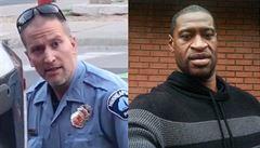 Policista z případu George Floyda se poprvé objevil před soudem, hrozí mu až 40 let