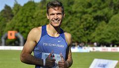 Sprinter Jirka překonal na mistrovství republiky český rekord na 200 metrů