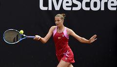 Tenistka Kristýna Plíšková porazila v Palermu nasazenou trojku Sakkariovou