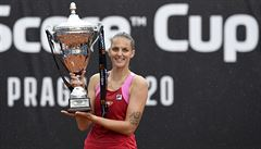 Plíšková na Štvanici vybojovala pohár: 'Už bych zas klidně mohla na světové turnaje'