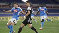 Penaltové drama. Neapol zvládla nervózní koncovku a pošesté slaví zisk italského poháru