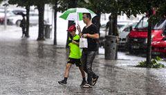 Na severovýchodě Moravy intenzivně prší, na několika místech platí první povodňový stupeň