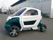 Na Technické univerzitě v Liberci vyvíjí elektrické vozítko pro teenagery. Pojede až 45 km/h