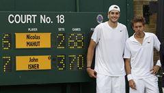 Zápas, který překonával rekordy. Nejdelší tenisová bitva mezi Isnerem a Mahutem slaví deset let