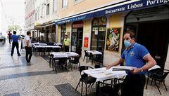 Evropa uvolňuje opatření. Vir naopak těžce dopadl na Lisabon, ze které se stalo epicentrum nákazy