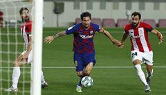 Trenér Barcelony Setién: Messi by si potřeboval odpočinout, mužstvo vypadalo unaveně