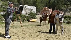 Představení Vinnetou I. ve westernovém městečku nebudou chybět pyrotechnické efekty