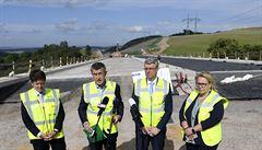 D6 do Karlových Varů bude hotová možná o dva roky dřív, než ŘSD plánovalo