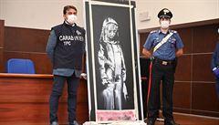 Policie vzala do vazby 6 lidí, které viní z krádeže dveří pomalovaných Banksym z francouzského klubu Bataclan
