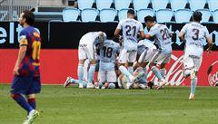 Barcelona ztratila se Celtou Vigo vítězství v závěru, Real může poskočit na první místo