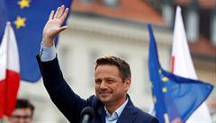 'Tolerantní Polsko.' Trzaskowski po těsné prohře zakládá občanské hnutí, ve hře je název Nová Solidarita