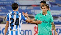 Real Madrid vyhrál nad San Sebastianem a dotáhl se na Barcelonu