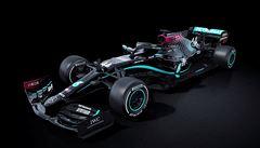 Mercedes se postavil za Hamiltona. Do boje proti rasismu nasadí černé monoposty