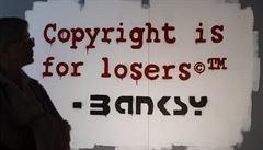 Banksy není žádný velký umělec. Jeho obrazy jsou trochu lepší šmíra