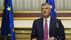'Hadova' minulost překáží smíru. Obvinění kosovského prezidenta zhatilo naději v jednáních se Srbskem