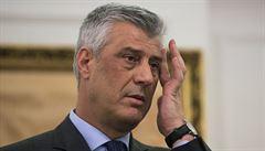 Nikdo nemůže přepsat historii Kosova, reagoval prezident Thaçi na obvinění