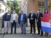 První vlak s Čechy do Chorvatska vítal i tamní ministr turistiky