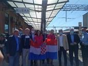 Jde o typický korona-produkt, říká Jančura o nové lince do Chorvatska. Vlak měl v cíli 75 minut zpoždění
