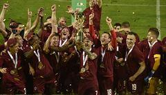 Sparta po hrubce Knoblocha zvítězila ve finále poháru, Letenští po šesti letech získali trofej