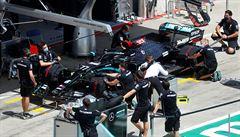 Spory z kraje sezony. Mercedes může využít kontroverzní systém DAS, Red Bull s protestem neuspěl