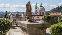 Pražský hrad znovu otevřel své jižní zahrady. Veřejnosti budou přístupné do konce srpna