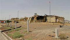 Další exploze otřásla Íránem, pak na jiném místě hořelo v továrně. Může jít o sabotáže, míní analytici