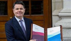 Novým šéfem euroskupiny bude irský konzervativní ministr financí Donohoe