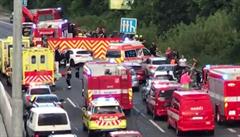VIDEO: Při nehodě v Praze zemřel 32letý policista, srážku aut zřejmě zavinila opilá řidička