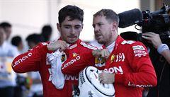 Těžké časy pro Ferrari. Vettel si stěžuje na servis mechaniků, Leclerc po karambolu zpytuje sebevědomí