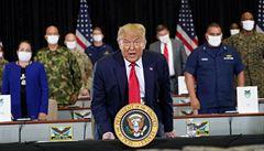 Trump hrozí vysláním federálních sil do dalších měst. V Chicagu je podle něj situace horší než v Afghánistánu