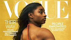 'Najměte černošské fotografy.' Magazín Vogue čelí kritice kvůli tónování pokožky afroamerické gymnastky