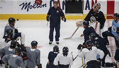 Roušky i Pastrňák v karanténě. Startuje netradiční příprava na odložené play off NHL