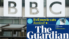Británie: The Guardian zruší kvůli koronaviru až 180 pracovních pozic, veřejnoprávní BBC propustí dalších 70 lidí