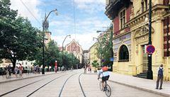 Rozšíří se tramvajové ostrůvky, vzniknou nové zastávky. Chodci a cyklisté budou v centru Prahy zvýhodněni