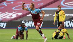 Famózní Souček opět mezi střelci. West Ham porazil Watford 3:1 a je krůček od záchrany