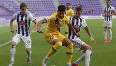 Barcelona si připsala těsnou výhru nad Valladolidem, dál stíhá vedoucí Real
