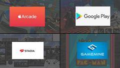 Nejlepší služby předplatného her jsou GameMine, Google a Apple