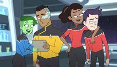 Star Trek přiletí jako kreslený komediální seriál. Napsal ho scenárista Ricka a Mortyho
