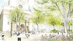 Začíná dvouletá oprava Karlova náměstí. Pražané se konečně dočkají přechodu, řidiči musí počítat se zácpami