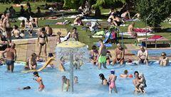 Česko i Evropu dusilo vedro. Padaly teplotní rekordy, v Doksanech naměřili 38,9 stupně