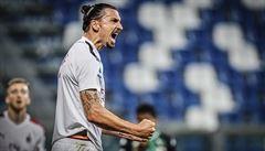 Ibrahimovic řídil dvěma trefami výhru AC. Krejčí nezabránil prohře Boloni a Atalanta je druhá