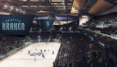Plánovaný přírůstek do rodiny NHL zná své jméno. Kraken ze Seattlu upoutá i unikátní arénou